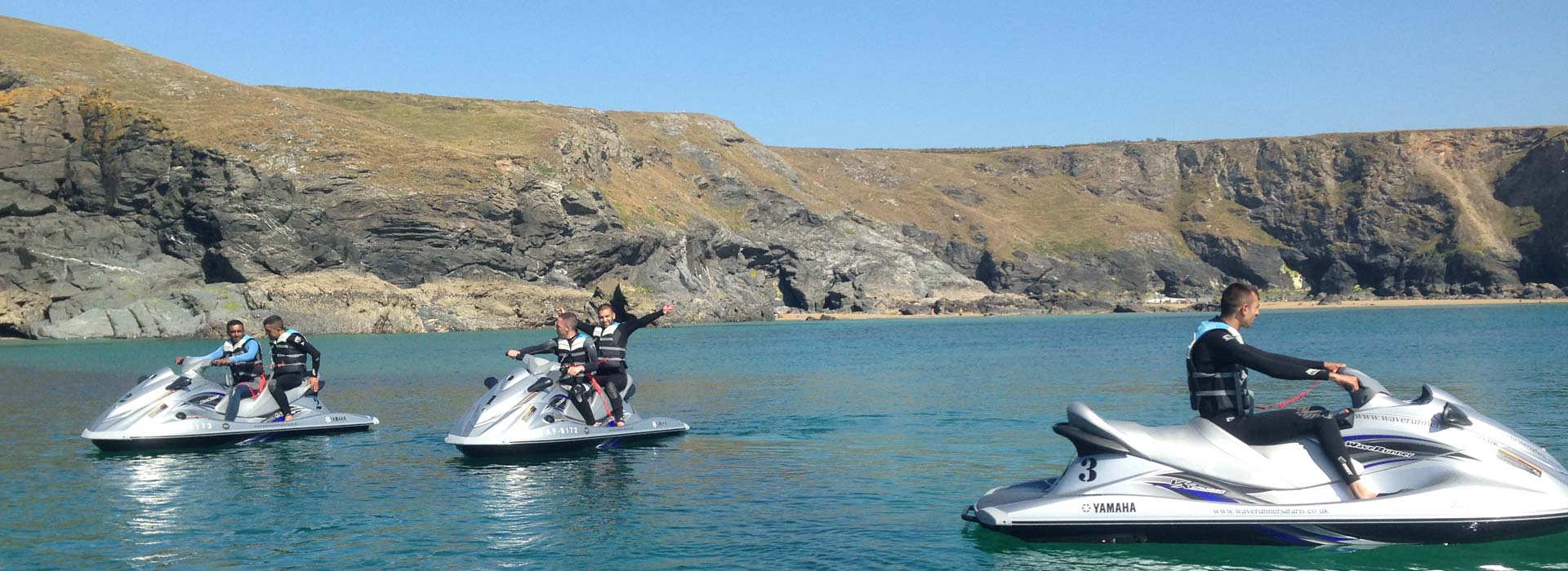 jet ski hire and safaris Newquay Cornwall water sports Centre