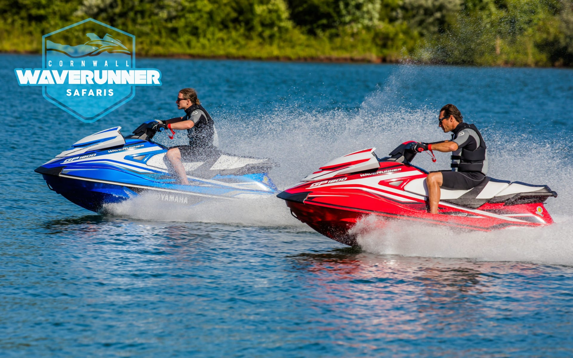 New Yamaha Waverunner GP 1800 Blue