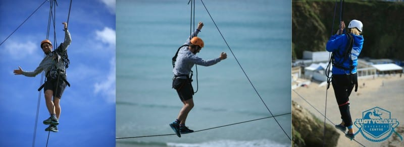 Lusty Glaze Adventure centre Newquay cornwall adventure activities