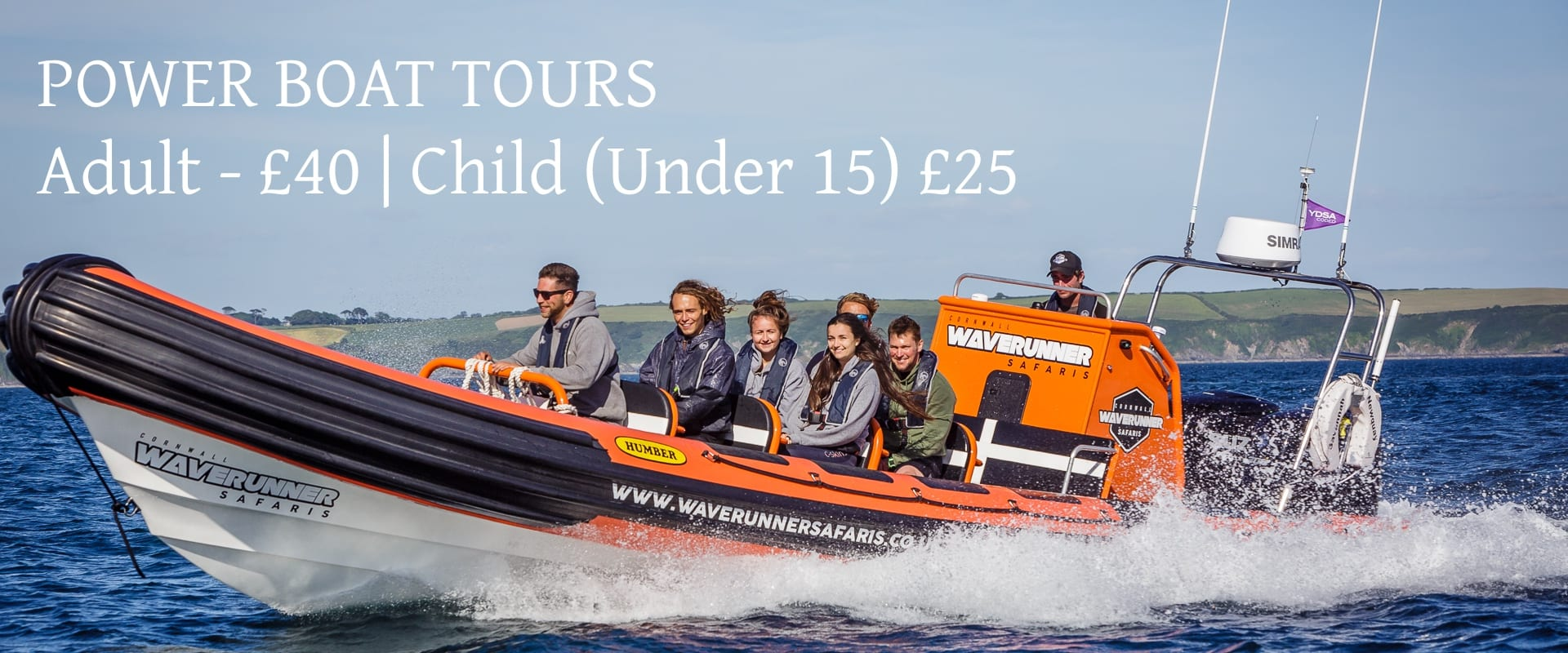 Power Boat Tours Newquay