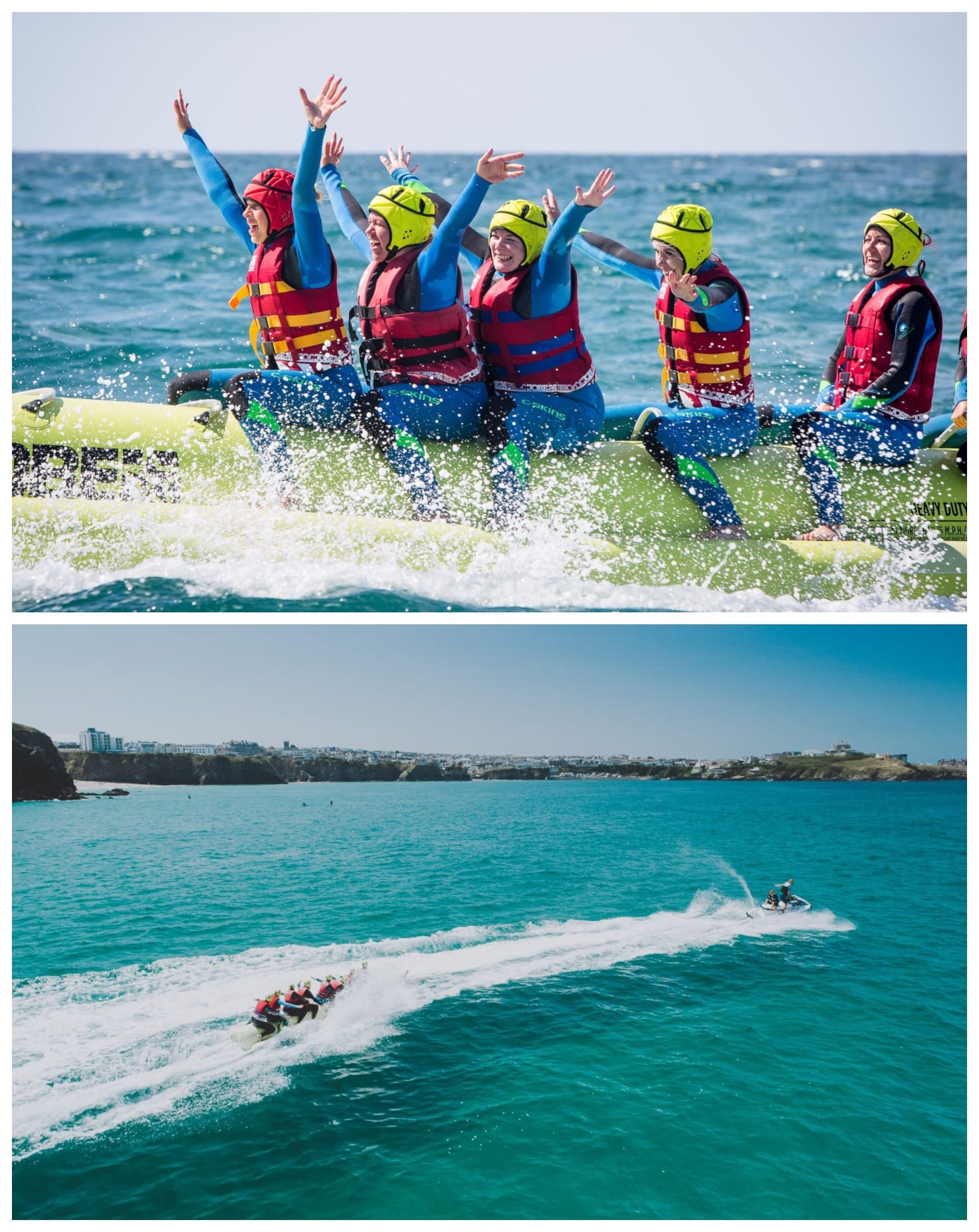 Banana Boat Rides in Cornwall