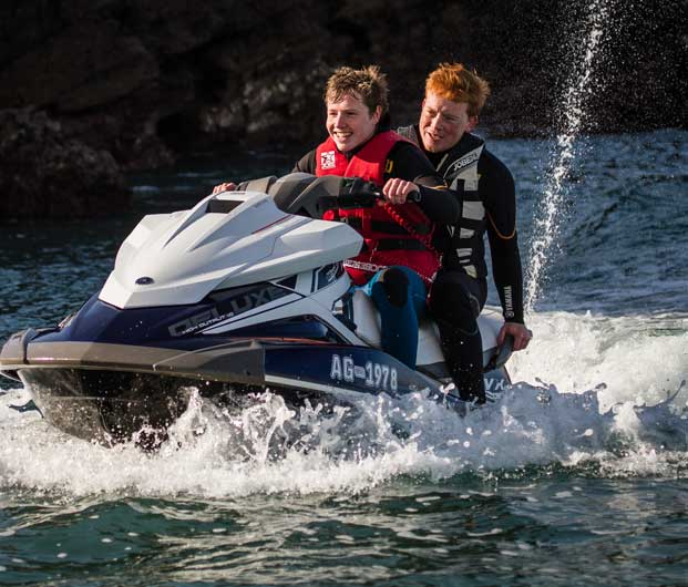 Advanced Jet Ski Session At Carlyon Bay In St Austell