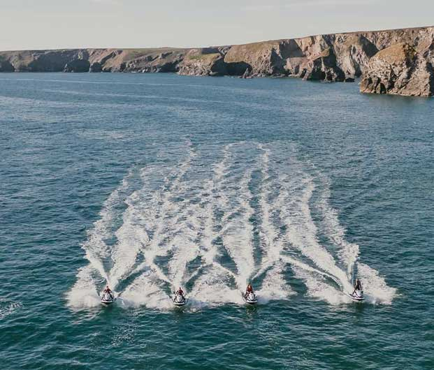 JET SKIING IN CORNWALL