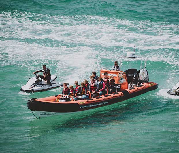 Wet 'n' Wild Boat Trip In Newquay